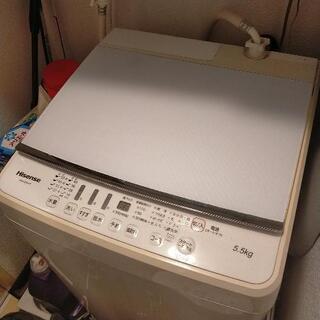 洗濯機 2017年製 5.5kg 新宿