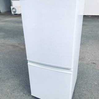 ♦️EJ1842番 SHARPノンフロン冷凍冷蔵庫 【20…