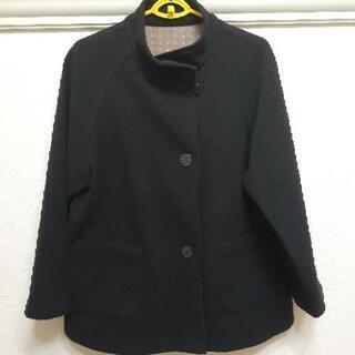 美品 フリースコート 黒 Mサイズ