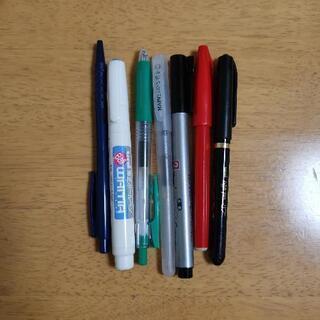 サインペン 修正ペンなど