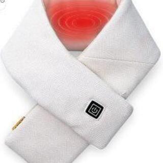 新品未使用ネックウォーマー 加熱スカーフ 電熱マフラー 襟…