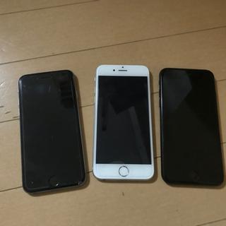 アップル iPhone6 iPhone7 セット au ジャンク