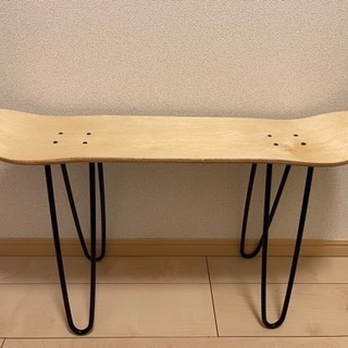 新品 オシャレ スケボー チェア 椅子