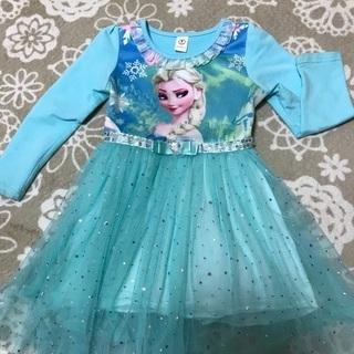 アナ雪 ドレス ワンピース 110