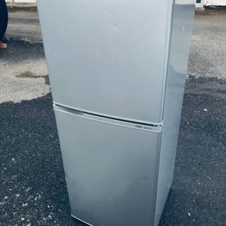 ♦️EJ1861番AQUAノンフロン冷凍冷蔵庫 【2011…