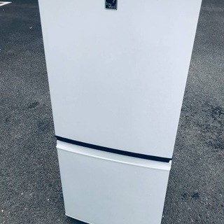 ♦️EJ1862番 SHARPノンフロン冷凍冷蔵庫 【20…