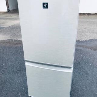 ♦️EJ1863番 SHARPノンフロン冷凍冷蔵庫 【2…
