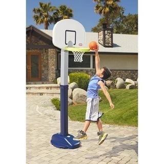 アジャストバスケットゴール 子供用 ボール付 リトルタイクス社製