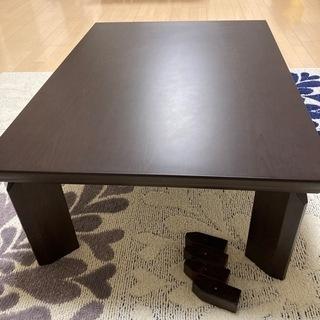 長方形テーブル コタツ