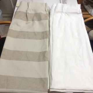 2級遮光カーテン 幅100cm×丈180cm 4枚組1セッ…