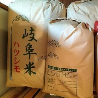 岐阜県産 令和2年産ハツシモ 玄米10kg 2,200円