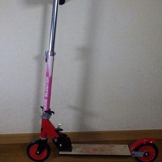 AVIGO 折り畳み キッズスクーター 青・赤2個