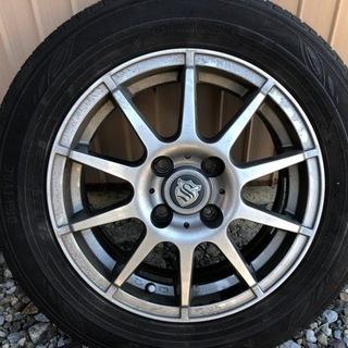 タイヤダンロップEC202  タイヤ+ホイール4本セット