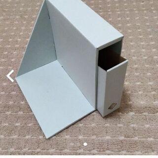 分類収納ブックエンド3セット 棚上収納ボックス2セット