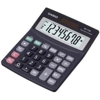 カシオ Casio 電卓 MS-7LBK-N オフィス用品…