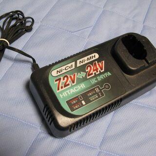 日立工機製コードレスツール用急速充電器UC24YFA差し上…