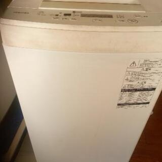 東芝洗濯機4.5kg 2017年西別館に置いてます