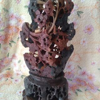 美術品 石の透かし彫り【玉石寿山石】