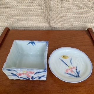 有田焼小鉢&小皿5個セット(小鉢9cm角 小皿直径10、5…