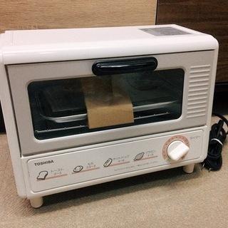 新品 レトロ 東芝オーブントースター 手動式 HTR-42…