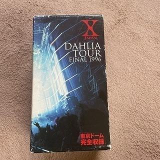 X JAPAN VHSテープ