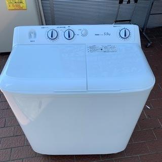 ⭐️未使用⭐️2020年製 Haier 5.5kg2槽式洗…