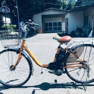 ②413番✨電動自転車Panasonic ビビ ENS63…
