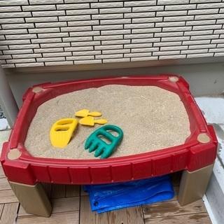 お砂場セット STEP2 サンドボックス 蓋付き砂場