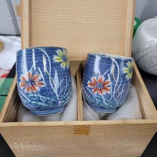 1027-036 清水焼 夫婦茶碗セット
