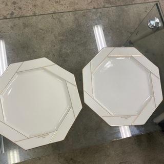 1027-038 【無料】未使用 お皿 2枚セット