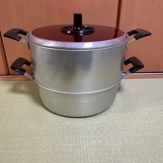 蒸し器 蒸し鍋 アルミ製