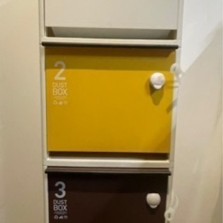 ゴミ箱 分別ゴミ箱 3段ゴミ箱