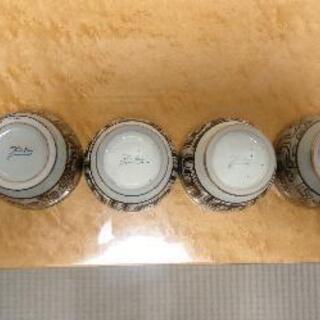 アジアン調カップ(陶器)(6個)