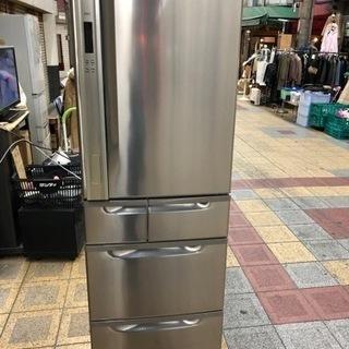 美品 東芝 5ドア冷凍冷蔵庫 GR-A41G 市内格安配達