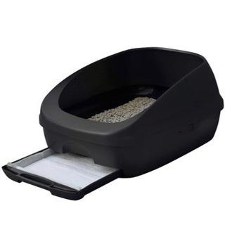中古デオトイレ 猫砂付き 洗浄済