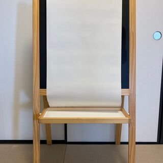 IKEA MALA 木製イーゼル ホワイトボード&黒板 お…