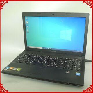 即使用可 中古良品 ノートパソコン 15.6型ワイド Le…