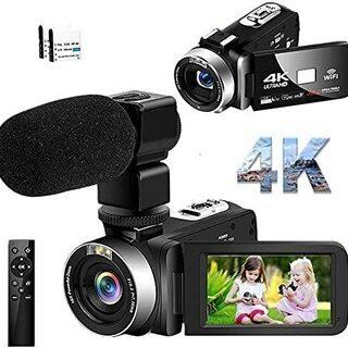 ほぼ新品 4K ビデオカメラ