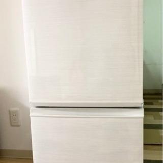 美品 シャープ製 冷蔵庫 2ドア
