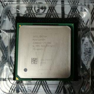 古いですがIntel Pentium4 3GHZはいかがでしょうか?