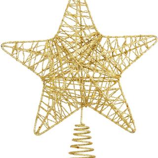 クリスマスツリートップ スター 飾り 星 新品未使用