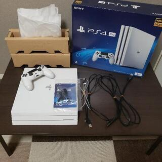 PS4 Pro CUH-7200B ホワイト 1TB