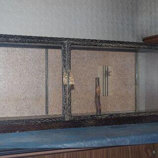 ガラスショーケース、ガラス人形棚
