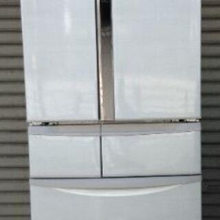 パナソニック 6ドア冷蔵庫NR-J43HC ウッディホワイト 1...