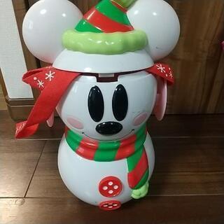 スノーマンクリスマスポップコーンバスケット