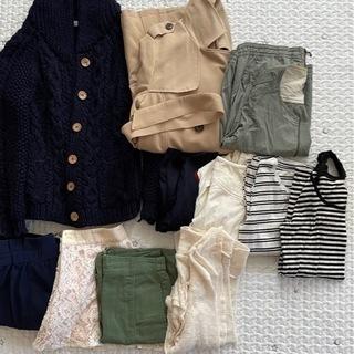 冬、秋春?衣類さしあげます