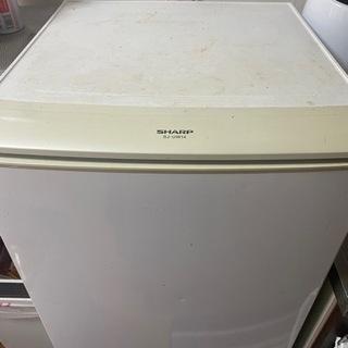 SHARP 2011年製 冷蔵庫 SJ-UW14 137L