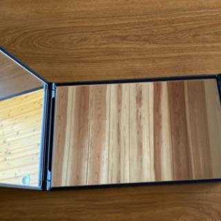 三面鏡 卓上 アイメイクミラー