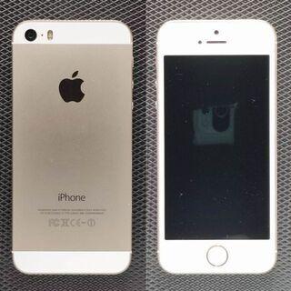 iPhone 5S 16G au ゴールド (B)
