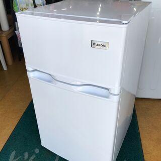 MAXZEN JR087HM01 [冷蔵庫 (87L・右…